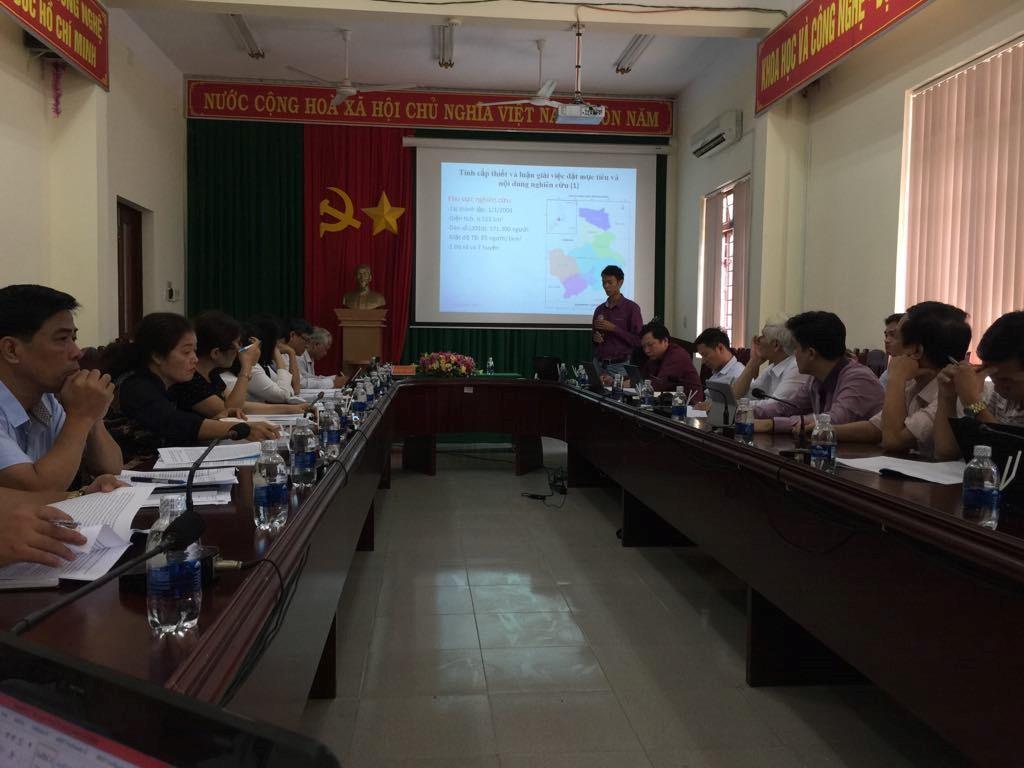 Viện Công nghệ vũ trụ tổ chức Hội thảo triển khai đề tài tại Đắk Nông