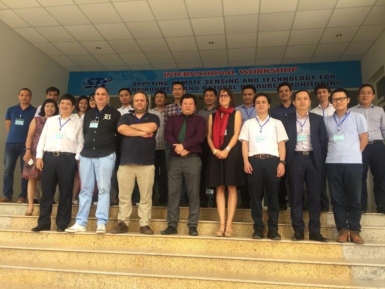 Hội thảo quốc tế Ứng dụng công nghệ viễn thám và hệ thông tin địa lý trong giám sát tài nguyên thiên nhiên và môi trường