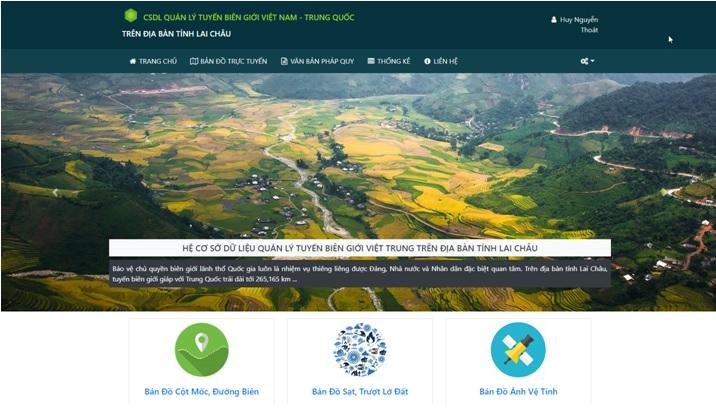 Ứng dụng công nghệ Địa tin học trong xây dựng cơ sở dữ liệu và quản lý biên giới
