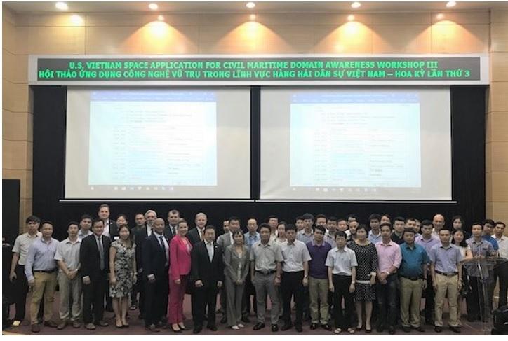 Ứng dụng công nghệ vũ trụ trong lĩnh vực hàng hải dân sự Việt Nam – Hoa Kỳ