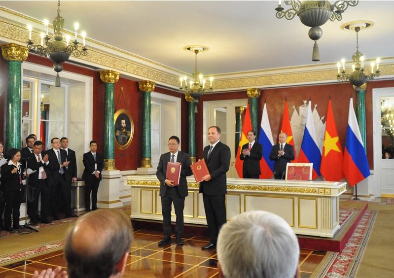 Quan hệ hợp tác về khoa học và công nghệ giữa VAST với các đối tác Nga và Belarus