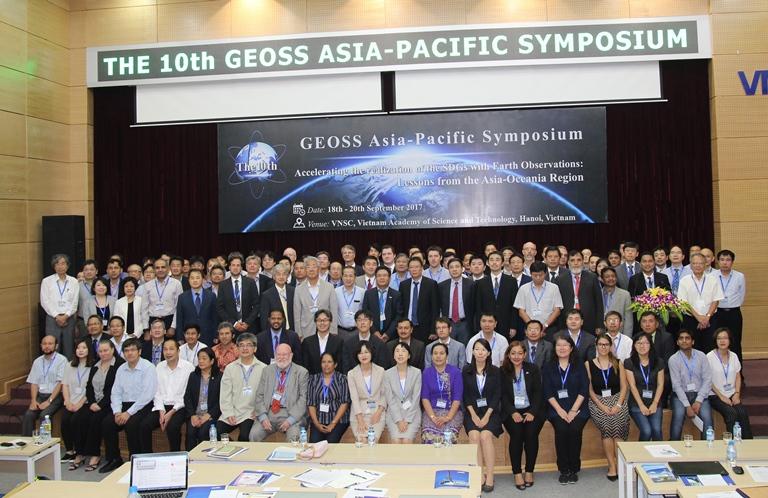 """Hội thảo """"Hệ thống quan sát Trái đất toàn cầu khu vực Châu Á – Thái Bình Dương lần thứ 10"""""""